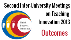 Second Inter-University Meetings on Teaching Innovation 2013