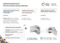 Convocatoria Premios 2015
